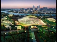 Панорама на город Тяньцзинь (Tianjin)