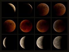 Lunar eclipse selected stages, 15 - 16 June 2011 (Melissa Maples) Tags: red moon black night turkey eclipse nikon asia trkiye antalya nikkor polyptych vr afs lunareclipse  18200mm   f3556g d40  18200mmf3556g