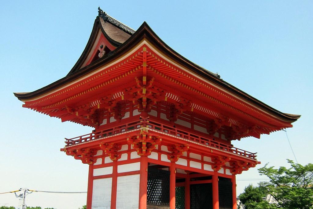 Kyoto - Higashiyama: Kiyomizudera - Nio-mon