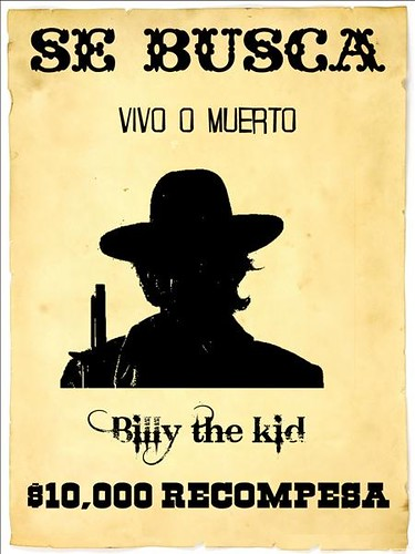 Cartel Billy the kid