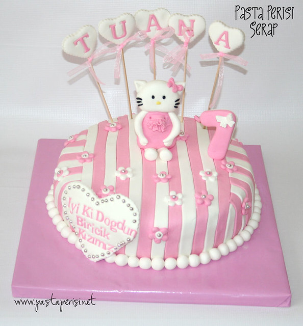 Hello Kitty cake-Tuana