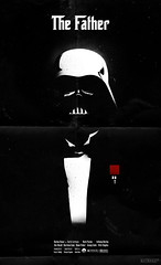 The Father (mathiole) Tags: classic movie poster starwars culture pop darth godfather corleone