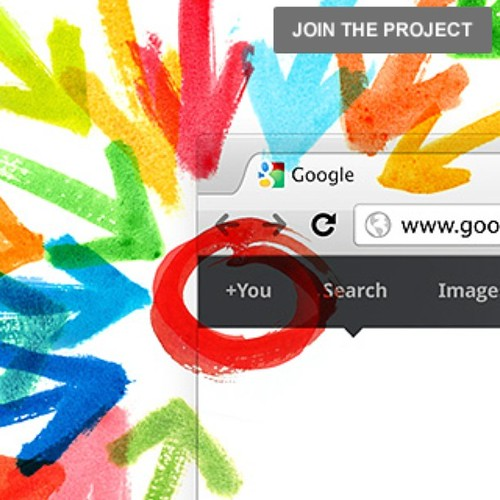 Google + Project, ya know Google's version of Facebook