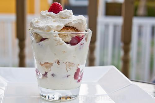 Canada Day Dessert Raspberry