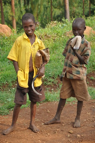 Young boys: Eastern Uganda