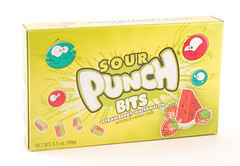 Sour Punch Bits Strawberry Watermelon Box
