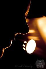 {1/30 : Self-Portrait} (Scarlet.Mind) Tags: light selfportrait black dark autoritratto nero controluce buio 30days profilo