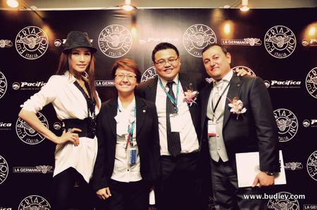 Amber Chia, Jean, John Cho, Graziano Soliani