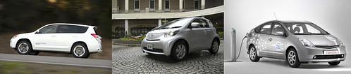 Новые модели электромобилей Toyota 2012