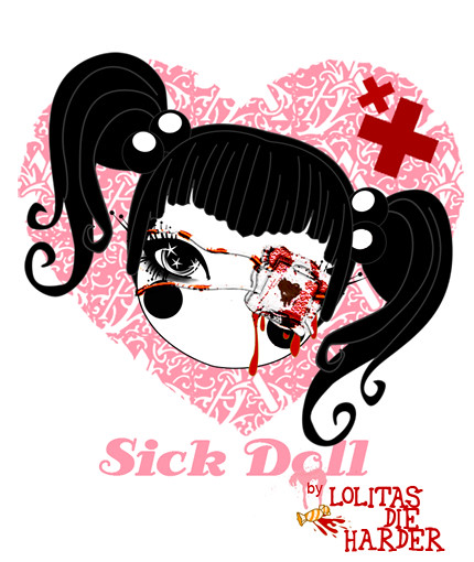 sick doll by LDH