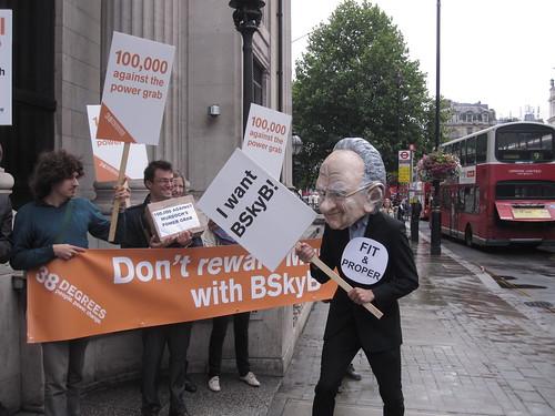 Murdoch wants BSkyB