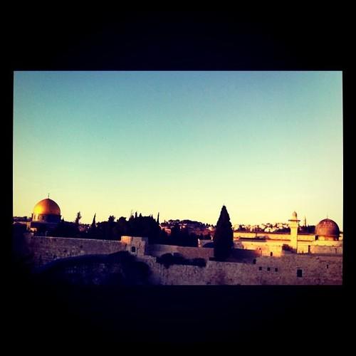 Jerusalén desde los tejados