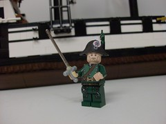 Custom Rapier (Napoleon (Vengeful Potentate)) Tags: fun toy lego pirates minifigs figs moclego customfig