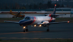 Metroliner in the Morning (C McCann) Tags: canada home airport bc aircraft aviation north n columbia victoria international british chinook sidney airliners saanich cyyj yyj metroliner sunwest cfgew