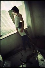 2 (koniksalami) Tags: sun film beauty analog 35mm polaroid ray minolta balcony 28mm mum leon manual mathi