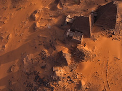 Meroe Archaeological Site IX - R45929m (opaxir) Tags: archaeology pyramid sudan aerial kap nubia kush meroe meroitic