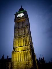 Big Ben...8-15pm (Flipper24.) Tags: london clock night time bigben iconic canonpowershotg12