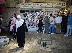 At the Damascus Gate (daniel.frauchiger) Tags: israel muslim jerusalem panasonic arab oldtown damascusgate gf1