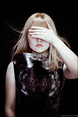 The Child of Night. (zemotion) Tags: portrait selfportrait alexandermcqueen zemotion zhangjingna