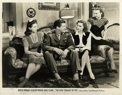 The Very Thought of You (addie65) Tags: soldier 1940s ww2 romantic drama moviescene warnerbrothers moviestill vintageclothes vintagedress vintagehair vintageshoes andreaking vintagehat classichollywood dennismorgan vintagehollywood eleanorparker theverythoughtofyou fayeemerson deceasedactors