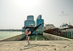 The Jump (vineetsuthan) Tags: city sky festival jump capoeira dubai nikond800 vineetsuthan