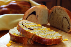 Honey Challah (Nevin C) Tags: food bread dessert baking cinnamon delicious honey jewish yiddish challah