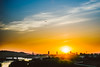 Sunset   Fly #116/365 [Explored] (A. Aleksandravičius) Tags: light sunset sky sun colors oneaday clouds plane canon explore photoaday 365 70200 lithuania pictureaday kaunas 70200mm 2014 lietuva markiii project365 365days explored 116365 canoneos5dmarkiii 3652014
