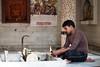Temple Offerings (Ursula in Aus) Tags: india male indian agra hindu uttarpradesh earthasia