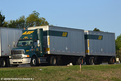 ABF Freight Sterling A9513 with Doubles (Trucks, Buses, & Trains by granitefan713) Tags: set twins pups sterling doubles 18wheeler abf tractortrailer bigrig ltl sterlingtruck trucktractor lessthantruckload doubletrailers abffreight a9513 sterlinga9500 sterlingaline