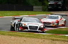 Blancpain GT Series Phoenix Racing Audi R8 LMS Ultra (motorsportimagesbyghp) Tags: audi ultra motorracing motorsport r8 brandshatch lms phoenixracing blancpaingtseries