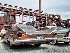 Buick - Essen Zeche Zollverein_0676_2014-04-06 (linie305) Tags: classic cars car sedan buick essen 1958 oldtimer carshow zollverein zeche 1959 oldtimertreff carmeeting supersedan