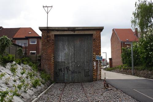 20130512 017 Leuven. Locomotievenstraat, Railway Shed