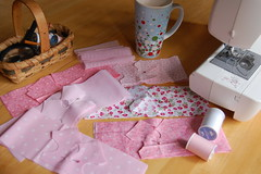 DSC_0009 (Lindy Dolldreams) Tags: sewing fabric pink blythedoll doll lindydolldreams