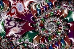 Raspberry Swirl (Ross Hilbert) Tags: fractalsciencekit fractalgenerator fractalsoftware fractalapplication fractalart algorithmicart generativeart computerart mathart digitalart abstractart fractal chaos art mandelbrotset juliaset mandelbrot julia orbittrap sculpture spiral