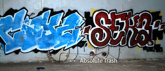 Cayz & Seka (absolutetrashmag) Tags: absolutetrash absolutetrashmag philadelphia philly lurking graffiti phillygraff cayz seka ppp nycx