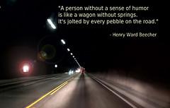 Quotation Henry Ward Beecher (Hakon07) Tags: henrywardbeecher quotes quotation america usa republican highway norway light tunnel