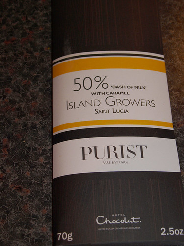 Hotel Chocolat 50% 'Dash of Milk' with Caramel Purist Bar