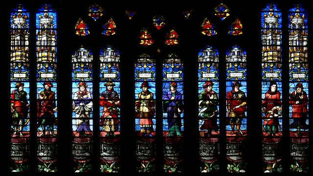 Nicolas le Prince - Beauvais cathedral Stained glass
