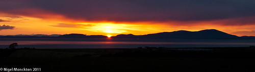 1000/475: 10 June 2011: No apologies - it's another Solway sunset by nmonckton