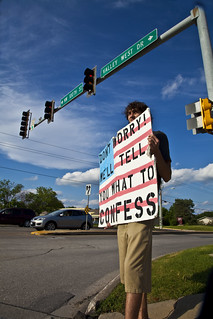 Anti-Torture Vigil - Week 52: Wes
