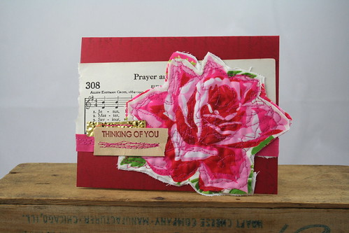 Rose Prayer Thinking of You Card
