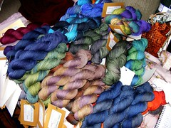 Pile of finshed sockyarn
