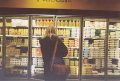 Supermarket (greetingsfromhanna) Tags: analog milk supermarket
