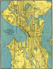 Seattle Map 1914