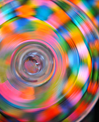 abstract blur color colour rainbow radial