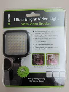Sima Ultra Bright Video Light SL-20LX