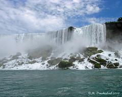 Niagara Falls, a photo from Maid of the Mist (PhotosToArtByMike) Tags: newyork canada river niagarafalls waterfall scenic maidofthemist ontariocanada landscapephotograph