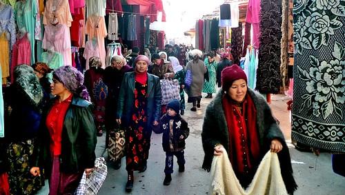 Market Street - Urgut, Uzbekistan