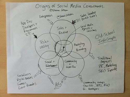 InfoGraph Origins of Social Media Consultants