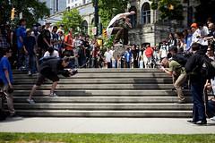 Nollie Heel (KeatenSaba) Tags: wildinthestreets nikon2870mm 5dmkii nikontocanonadapter skateboardingvancouver keatensaba goskateboardingdayvancouver2011 mk25dskateboarding